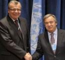 António Guterres im Kampf gegen Menschenhandel